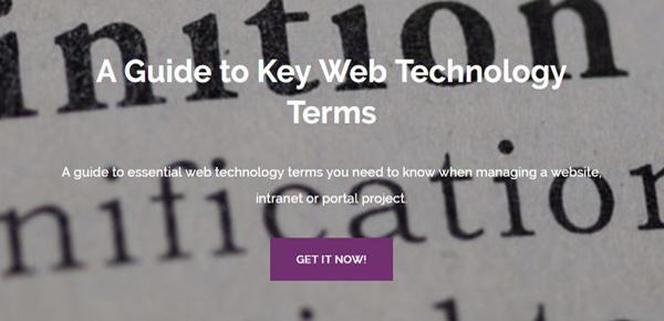 Key Web Technology Terms Guide