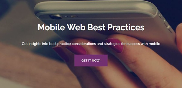 Mobile Web Best Practices Guide