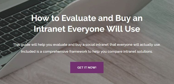 How to Evaluate and Buy an Intranet Everyone will Use Guide