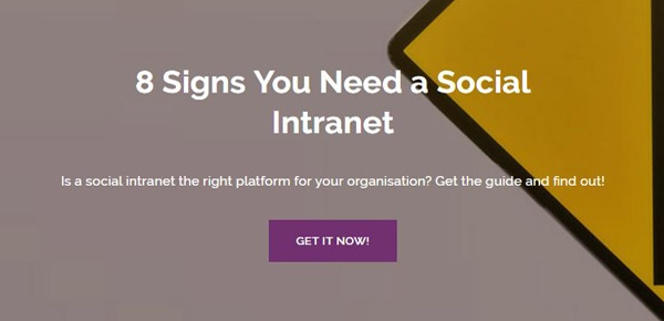 8 Signs You Need a Social Intranet Guide