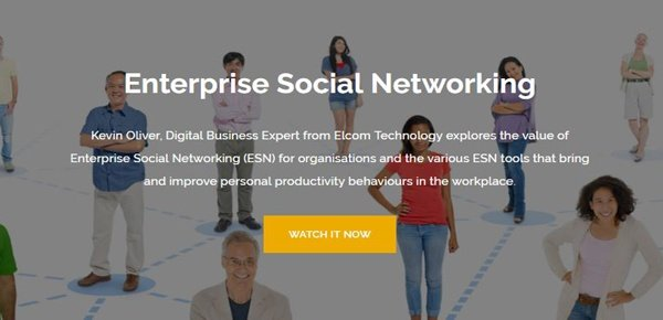 Enterprise Social Networking Webinar