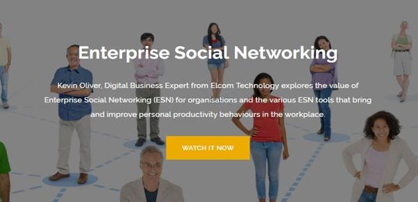 Enterprise Social Networking Webinar