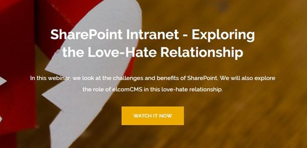SharePoint Intranet Webinar
