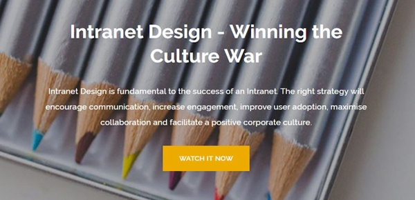 Intranet Design Webinar