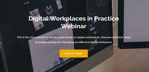 Digital Workplaces in Practice Webinar
