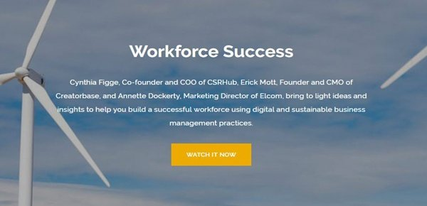 Workforce Success Webinar