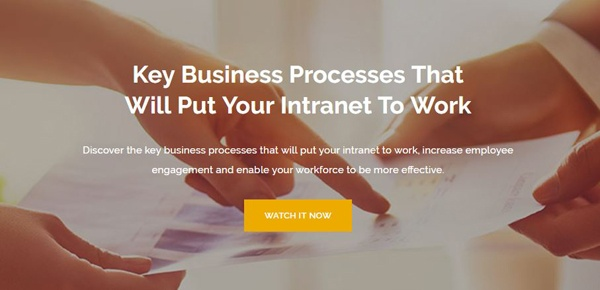 Key Business Processes that will put your Intranet to Work Webinar